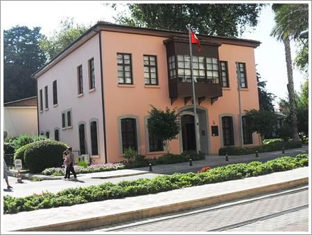 Antalya atatürkün kaldığı ev