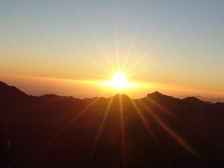 Bingöl güneşin doğuşu