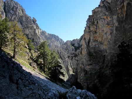 akdağ tokalı kanyonu