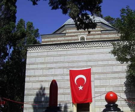 Canakkale Gazi Süleyman Paşa Türbesi