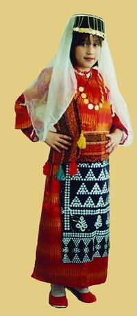 Adıyaman Kadın Yöresel Giysiler