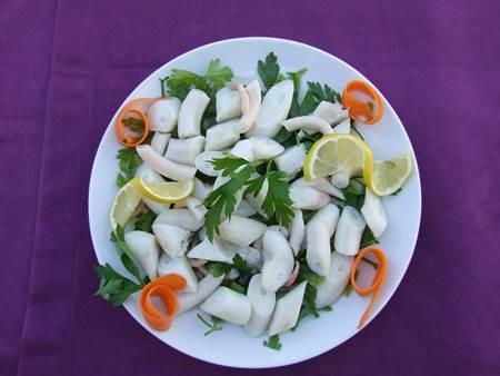 Ahtapot Salata - Çanakkale