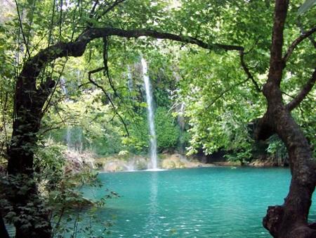 Antalya Doğal Güzellik - Düden Şelaleleri