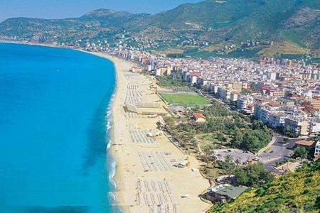 Antalya Doğal Güzellik - Kleopatra Plajı