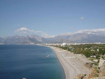 Antalya Doğal Güzellik - Lara Plajı