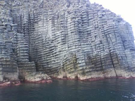 Canakkale Peynir Kayaları doğal güzellik