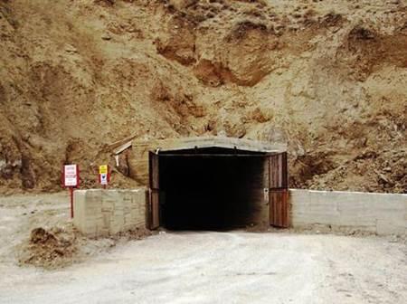Cankırı Tuz Mağarası girişi