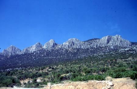 Denizli - Besparmak Dağı