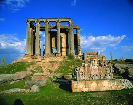 Aizanoi antik kenti (Zeus Tapınağı)