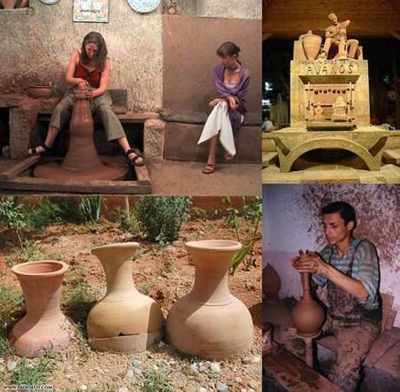 Avanos seramik kap yapımı